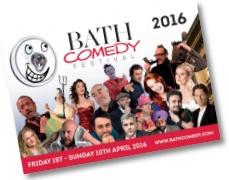 2016 Bath Comedy Festival Brochure