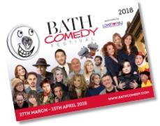 Bath Comedy Festival printed programme