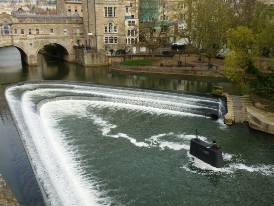 Russian submarine heralds start of Bath Comedy Festival