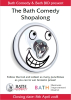 Download the Bath Comedy Shopalong form and map