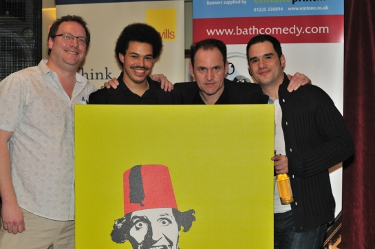 Bath Comedy Festival New Act Competition 2014 Winners